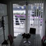 Apartmani GREGO - pogled iz kuhinje